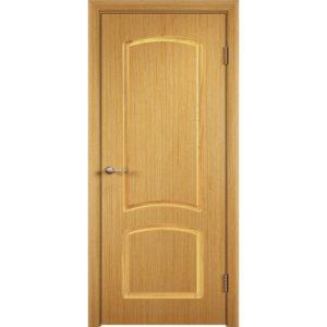 Шпонированная дверь Наполеон (глухая, дуб)